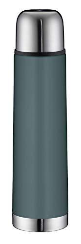 alfi Isolierflasche Edelstahl isoTherm Eco, Edelstahl türkis 750ml, Thermosflasche mit...