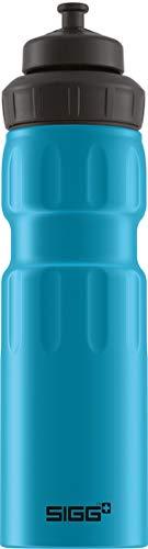 SIGG WMB Sports Blue Touch Sport Trinkflasche (0.75 L), schadstofffreie und auslaufsichere...