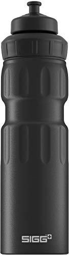 Sigg WMB Sports Black Touch Sport Trinkflasche, (0,75 L), schadstofffreie und...