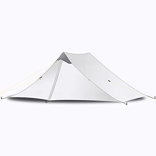 EZOLY Ultraleicht Zelt 2 Personen Trekkingzelt, 5000MM Wasserdicht, 3-Jahreszeiten-Zelt...