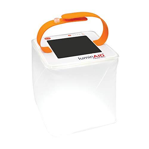 LuminAID LUMPLNVB PackLite Nova USB Zusammenklappbares wasserdichtes Camping-Solarlicht