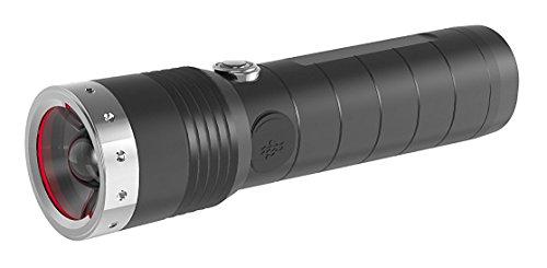 Ledlenser MT14, LED Taschenlampe, wiederaufladbar, fokussierbar, mit Akku, 1000 Lumen im...