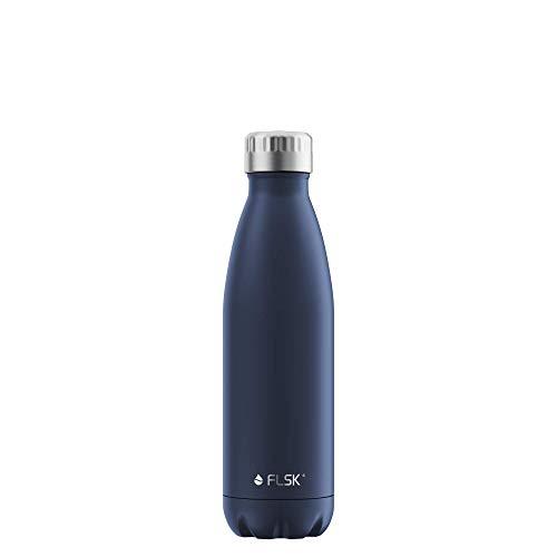 FLSK Das Original New Edition Edelstahl Trinkflasche – Kohlensäure geeignet | Die...