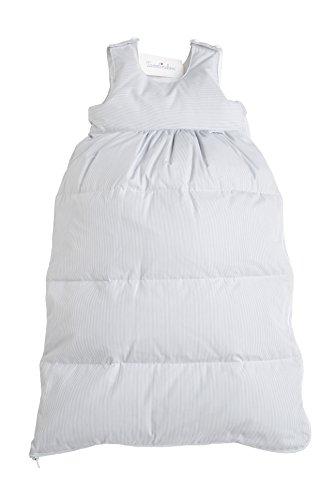 Tavolinchen Babyschlafsack Daunenschlafsack'BoludaStreifen' Kinderschlafsack' – grau –...