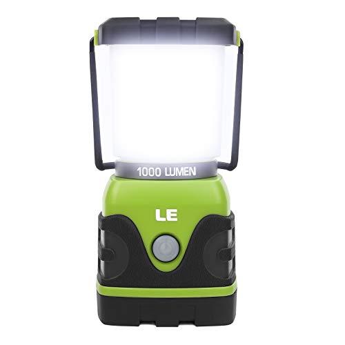 LE LED Campinglampe, Ultra Hell 1000 Lumen, 4 LeuchtmodiI Dimmbar Suchscheinwerfer,...