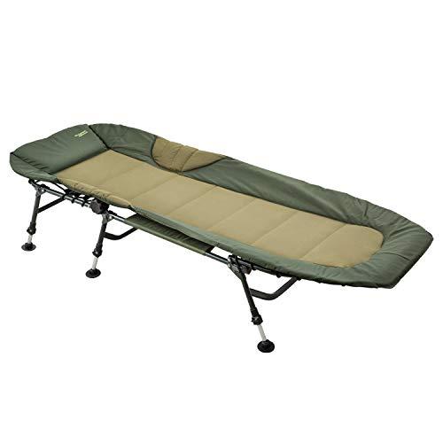 MK-Angelsport Angelliege Karpfenliege Relax bis 150 kg belastbar Nightdreamer Bedchair...