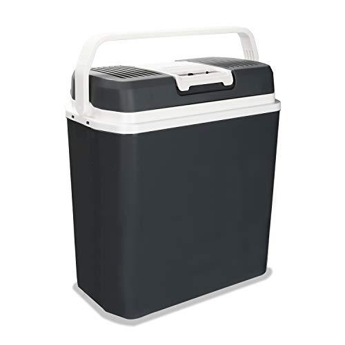 Hengda Kühlbox Thermo-Elektrische 24 Liter, WÄRMT und KÜHLT, Mini-Kühlschrank 12 Volt...