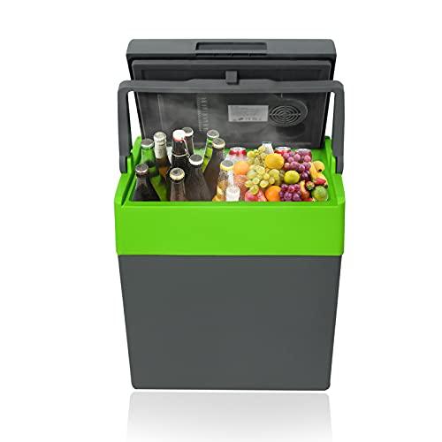 Aufun 30L Auto Kühlbox Elektrisch Tragbare Mini-Kühlschrank 12V 230V, Kühl &...