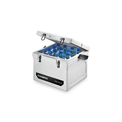 Dometic Cool-Ice WCI 22, tragbare passiv-Kühlbox/Eisbox, 22 Liter, für Auto, Lkw, Boot,...