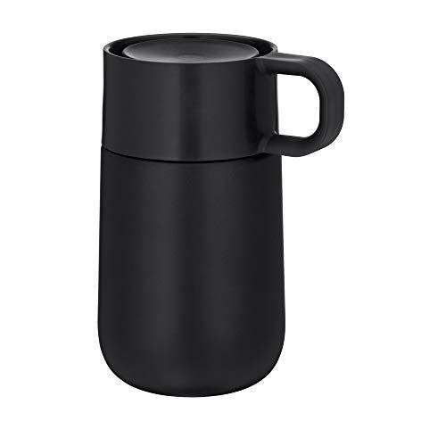 WMF Impulse Travel Mug, Thermobecher 0,3l, Automatikverschluss, 360°-Trinköffnung, hält...