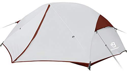 Bessport Zelt 2 Personen Camping Zelt, 2 Türen Ultraleicht Zelte Winddicht &Wasserdicht,...