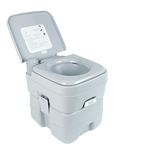 Z ZELUS Camping Toilette 20L Reise Toilette Sport Campingtoilette tragbar Abnehmbar...