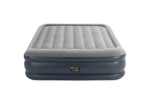 Intex Deluxe Pillow Rest Raised Luftbett - Queen - 152 x 203 x 42 cm - Mit eingebaute...