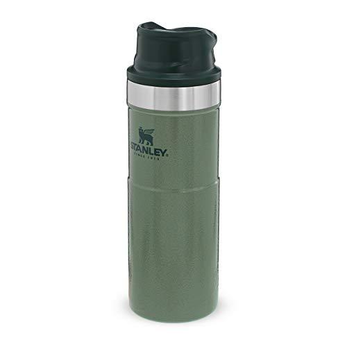 Stanley Trigger Action Travel Mug 0.47L/16OZ Hammertone Green – Auslaufsicher -...