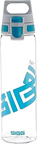 SIGG Total Clear ONE Aqua Trinkflasche (0.75 L), schadstofffreie und auslaufsichere...