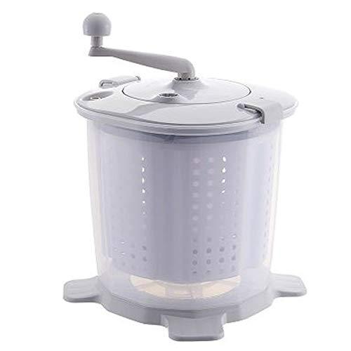 genialo Handwaschmaschine, Ohne Strom, Mit Kurbel und Schleuder, Camping, Handwäsche,...