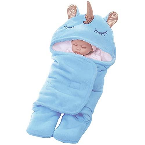 Wetry Einhorn Babyschlafsack Baby Pucksack Neugeboren Wickeldecke Pucktuch Swaddle Decke...