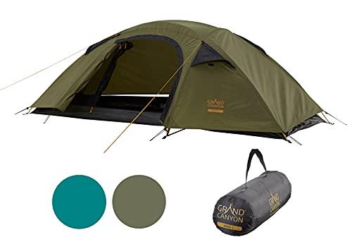 Grand Canyon APEX 1 - Kuppelzelt für 1-2 Personen | Ultra-leicht, wasserdicht, kleines...