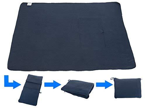 travelstar: patentiertes 2in1 Reise-Kissen (umwandelbar zur Decke), viele Farben...