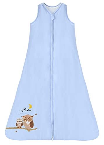 Chilsuessy Schlafsack Baby 2.5 Tog Winterschlafsack Babyschlafsack aus reine Baumwolle...