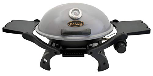 ACTIVA Grill Tischgasgrill Tischgrill Gas Crosby, Camping Grill, 3,4 KW Brenner, Outdoor...
