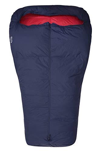 Mountain Warehouse Leichter Daunen-Doppelschlafsack – 2/3 Jahreszeiten, unverzichtbar, mumienförmig, warm,...