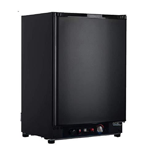 SMAD Mini Kühlschrank 60L Tragbarer Gas-Kühlschrank 220V / 12V / LPG Gas Elektroabsorption Propankühler...
