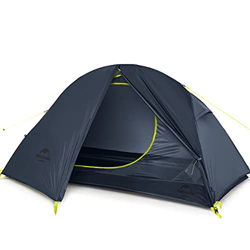 Naturehike Ultraleichtes Zelt Trekkingzelt für 1 Personen Zelt 3-4 Saison für Camping...