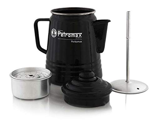Petromax Tee- und Kaffee Perkolator, 1.5 Liter/1,5 Liter, schwarz