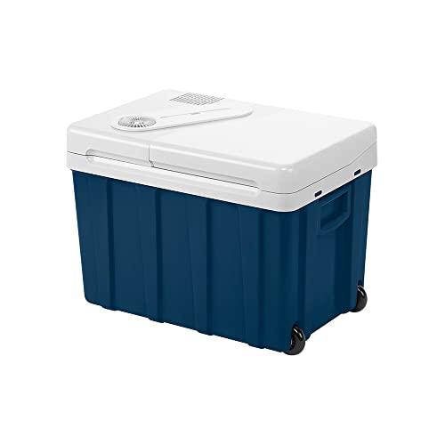 Mobicool MQ40W AC/DC - tragbare elektrische Kühlbox mit Rollen, 39 Liter, 12 V und 230 V...