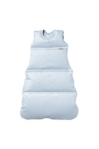 Premium Daunenschlafsack, längenverstellbar, Alterskl. ca 3-20 Monate, bleu, 80 cm