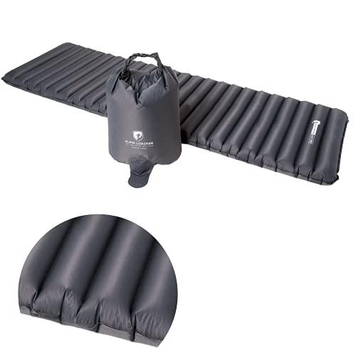 Alpin Loacker Light Pro aufblasbare Ultra-leichte Outdoor Isomatte 690g und 8cm dick 2.0 NEU | Schlafmatte |...