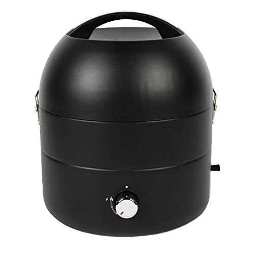 TAINO Tischgrill Kompakt-Grill Gasgrill Gas Tisch Edelstahl-Brenner BBQ Camping...