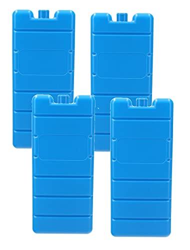 VonBueren 4X Kühlakkus für Kühltasche | 12h | je Kühlakku 200 g | 7,5 x 16,5 x 2 cm |...
