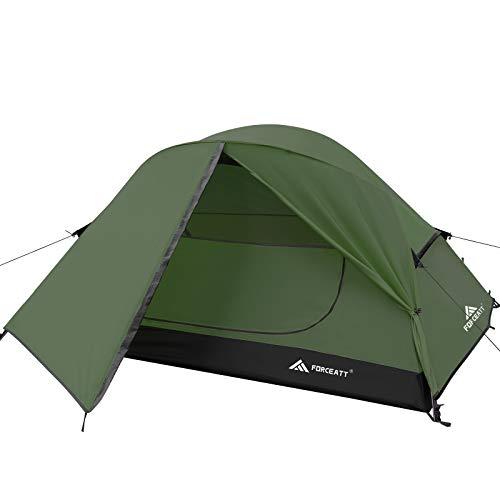 Forceatt Zelt für 2 Personen in 4 Jahreszeiten | Ultraleicht für Camping,...