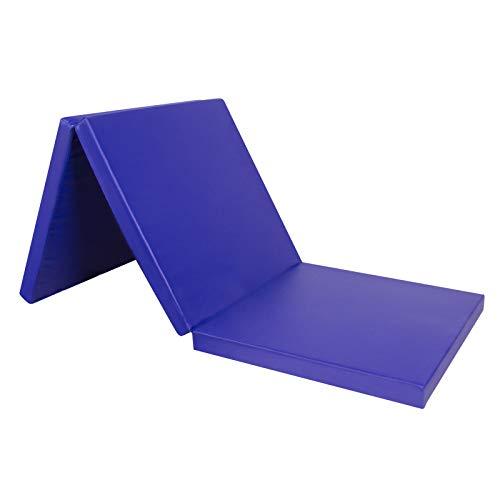 CCLIFE 180x60x5cm Klappbare Weichbodenmatte Turnmatte für Zuhause Fitnessmatte Gymnastikmatte rutschfeste...