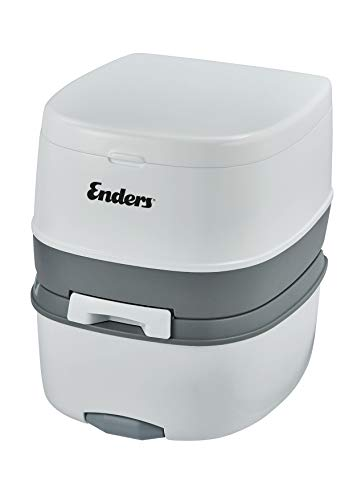 Enders® Campingtoilette Supreme Camping Toilette, Weiß