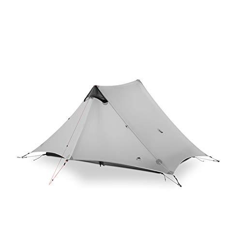 YFFSBBGSDK Camping Zelt Outdoor Ultraleicht Camping Zelt Silikon Anti-Storm Outdoor...
