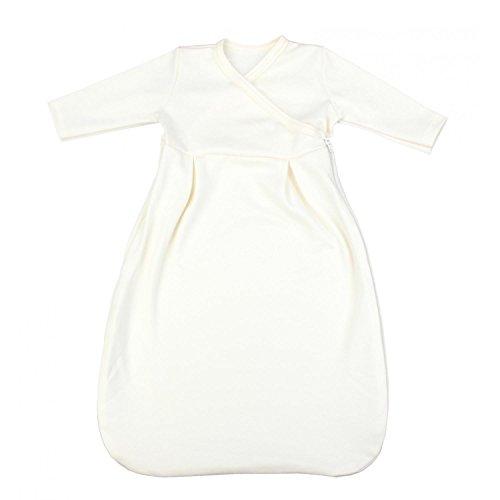 TupTam Baby Unisex Langarm Innenschlafsack, 74-80, Ecru