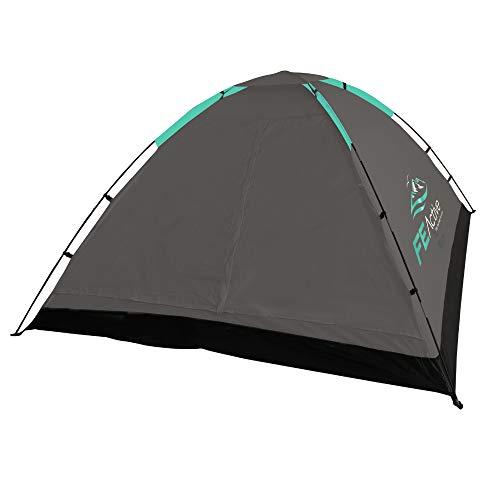 FE Active 3 - 4 Personen Zelt mit Fliegengitter am Eingang, schnell und einfach aufgebaut,...