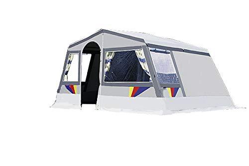 dwt Camping Zelt Hacienda grau Tunnelzelt Camping Outdoor Familienzelt 4 Personen oder 5...