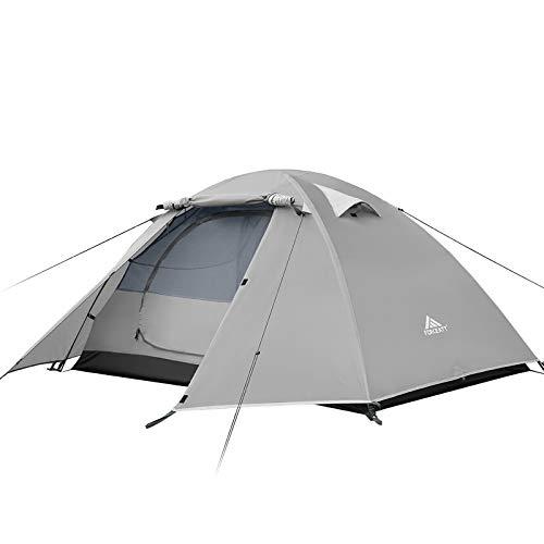 Forceatt Zelt 2 und 4 Personen Camping Wasserdicht 3-4 Saison,Ultraleicht Zelte Mit...