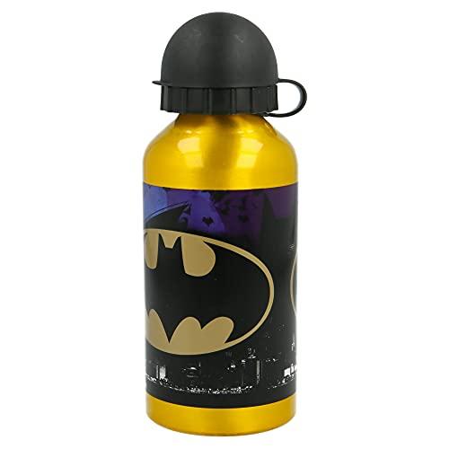 Stor Batman   Aluminium-Kinderflasche - Kinder-Wasserflasche - Wiederverwendbare...
