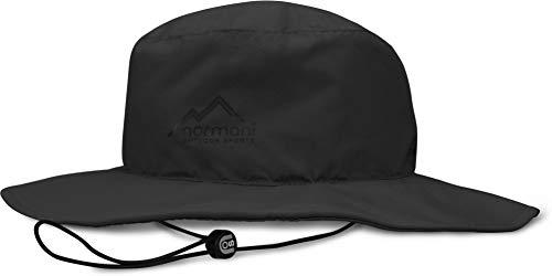normani Wasserdichter Sonnenhut 2-in-1 Hut - 100% Wind- und wasserdicht, UV-Schutzfaktor...