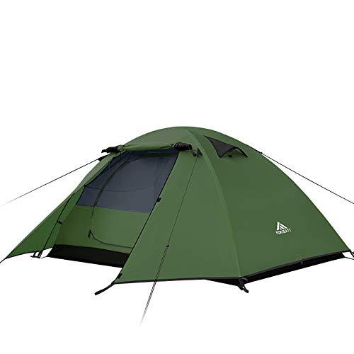 Forceatt Zelt 2 Personen Camping Wasserdicht 3-4 Saison,Ultraleicht Zelte Mit Kleinem...