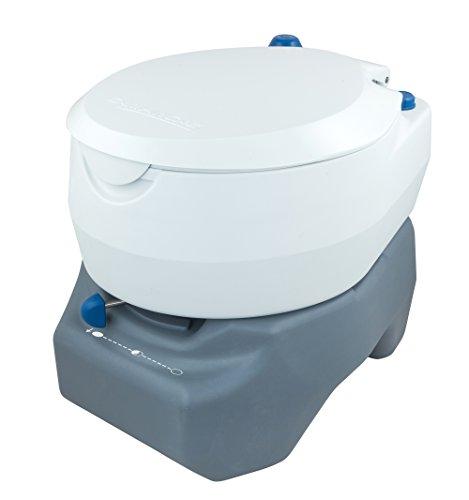 Campingaz Campingtoilette, Chemietoilette, chemische Toilette mit antimikrobiellem WC-Sitz...