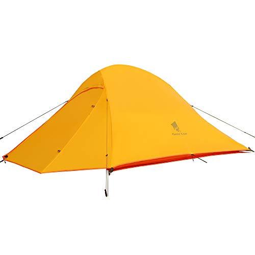 GEERTOP Campingzelt Ultraleichte 2 Personen Doppelten Zelt 3-4 Saison Camping Zelt für...