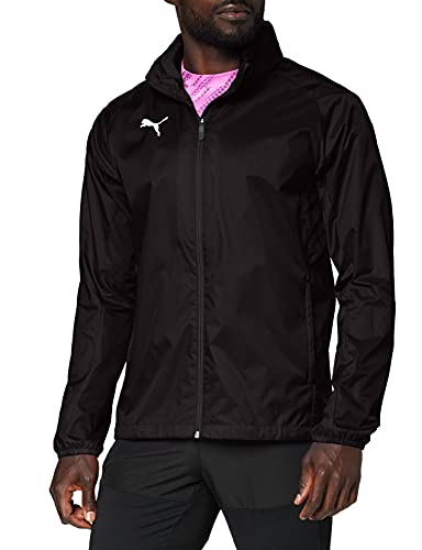 PUMA Herren Training Rain Jacket, Puma Black-puma white, M
