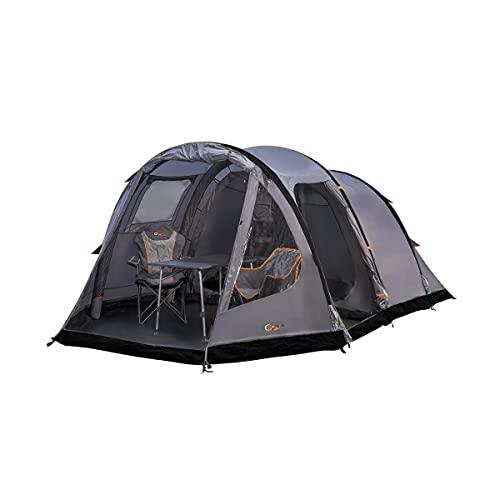 Portal Alfa 4 aufblasbares Campingzelt Tunnelzelt für 4 Mann Familienzelt wasserdicht mit...
