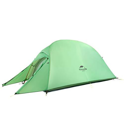 Naturehike Cloud-up Ultraleichte 1 Personen Single Zelt 3-4 Saison Camping Zelt (210T...